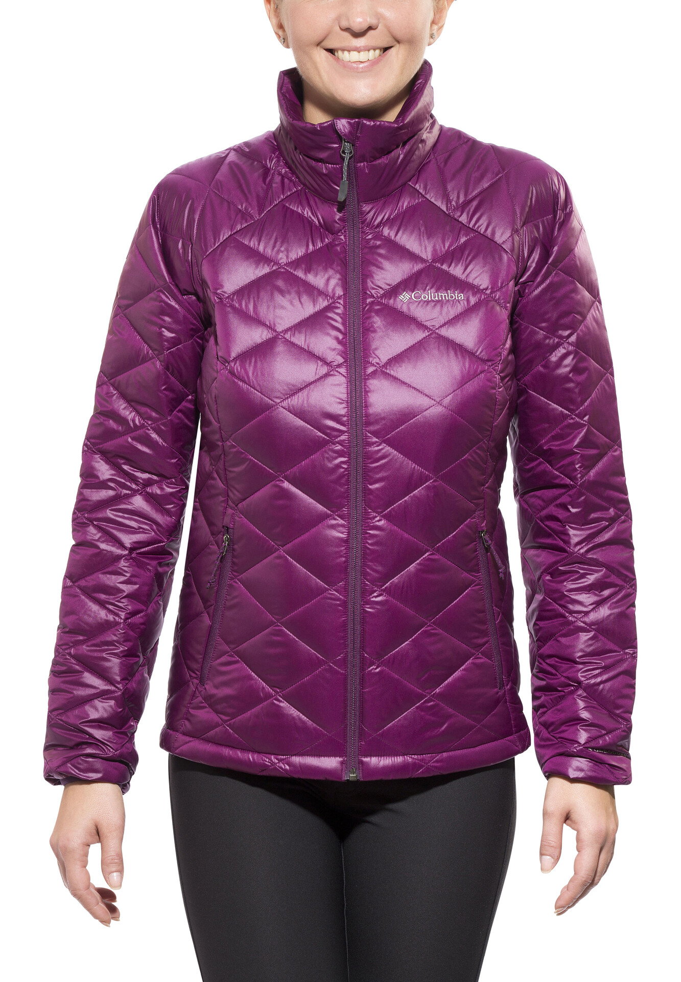 Turbodown Jacket Columbia Trask Mountain Dahlia WomenPurple 650 8wXk0PnO